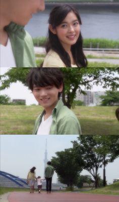 "Kotoko: ""Oye, Irie-kun"". Naoki: ""¿Qué?"". Kotoko: ""Nada"". Naoki: ""Kotoko"". Kotoko: ""¿Mm?"". Naoki: ""Nada"". Kotoko, Kotomi & Naoki Irie - Itazura na Kiss Love in Tokyo 2, Episodio 16"