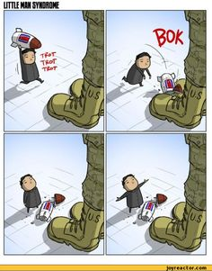 In light of the most recent threats, my favorite NK vs US comic