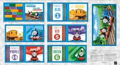 Thomas Color Express Book Panel.