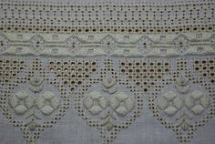 Under the Marula Tree: Pulled thread