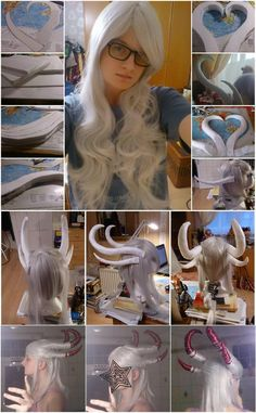 Dragon Age 2 :Flemeth wig by paszulyEstonia on DeviantArt