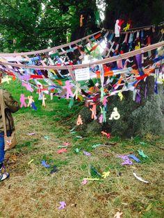 Safety Net art installation at Greenbelt 2015