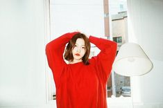 Imagem de yeri, red velvet, and kpop Seulgi, Ulzzang, Kim Yerim, Red Velvet Irene, White Aesthetic, Bikini, South Korean Girls, Kpop Girls, Red Hair
