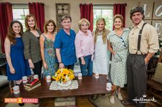 The Waltons on the Home & Family show.  This was a FANTASTIC show!  I laughed, I cried, I remembered!
