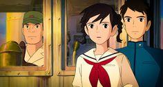Umi and Shun (From Up on Poppy Hill) Totoro, Hayao Miyazaki, Personajes Studio Ghibli, Up On Poppy Hill, Pom Poko, Grave Of The Fireflies, Japanese Animated Movies, Film D, Studio Ghibli Movies