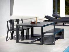 Gandia Blasco DNA Outdoor Dining Table by José A. Gandía-Blasco - Chaplins