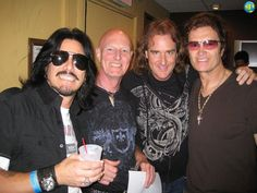 Glenn Hughes with Gilby Clarke, Chris Slade and Dave Ellefson @ Rock'n'Roll Fantasy Camp @ The Fillmore Irving Plaza in New York City, NY. USA on Monday, August 4th, 2008.