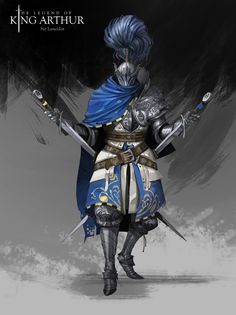 ArtStation - The Legend of King Arthur, Mathias Osland Fantasy Character Design, Character Aesthetic, Character Inspiration, Game Character, Character Concept, Concept Art, King Arthur Characters, Cartoon Knight, Bloodborne Art