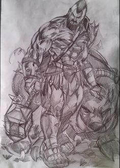 Hog Rider my fan art of #CoC