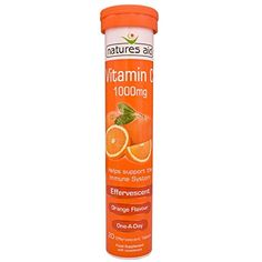 Natures Aid Vitamin C 1000MG Effervescent 20 tablet ** Want additional info? Click on the image. (This is an affiliate link) #VitaminsDietarySupplements