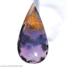 Ct UNIQUE Natural Dendritic Amethyst Sage Agate Mm X Mm - Amazing agate gemstones resemble snapshots of earths landscapes