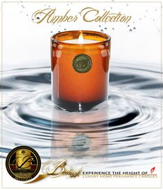These luxury candles are a perfect blend of premium soy, palm and coconut waxes, and high-quality fragrance oils, individually hand-poured into beautiful amber glassware, with its profusion of free-form bubbles.
