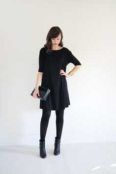 I want several dresses to wear with tights in Fall/Winter