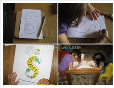 Posts about Letter S written by onelittletwolittle Letter S Activities, Letter Of The Week, Lettering, Writing, Film, Movie, Film Stock, Drawing Letters, Cinema