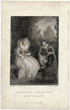 Shakespeare's Interview with Queen Elizabeth – 1827
