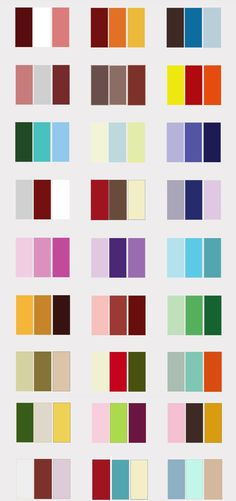 Color Schemes | What color scheme would you do for your wedding? | Vancouver Deals ...