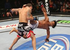 This head kick from Benson Henderson was unreal. #MMA #UFC