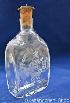 Reijmyre Glasbruk Sweden - Scandinavian Glass - Schnapsflasche /Schapps bottle