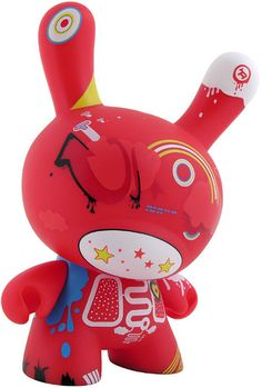 """8"""" Red Doma Dunny"""
