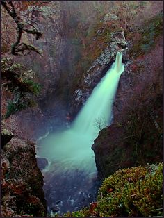 Celtic:  Falls of Foyers, Loch Ness, Scotland.