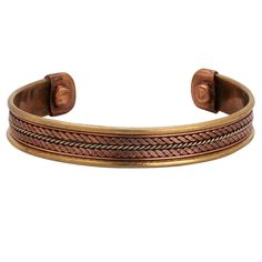 iCraftJewel Unisex Magnetic Healing Bio Therapy Arthritis Pain Relief Bracelet Bangle Copper Fashion Jewelry