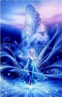 Tsuneo Sanda -The Power Inside From Disney Frozen -Giclee On Canvas - Disney Fine Art Frozen Disney, Frozen Art, Frozen Movie, Dark Disney, Elsa Frozen, Frozen Cartoon, Frozen Queen, Frozen 2013, Disney Princess Pictures