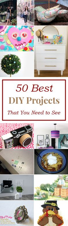 50 Best DIY Projects That You Need to See
