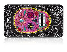Sugar skulls aren't just for Day of the Dead Celebrations any more, they look so cool you can enjoy them all year round. 12 full sized coloured pencils with a black and white design packed into a brightly decorated tin featuring a bright pink sugar sk Skull Coloring Pages, Coloring Books, Colouring, Sugar Skull Design, Stationery Craft, Skull Illustration, White Day, Pink Sugar, Tin Gifts