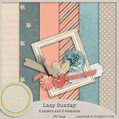 Lazy Sunday Freebie Mini Kit
