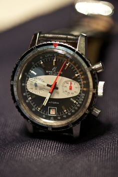 Vintage Breitling Datora Chronograph