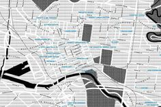 Melbourne specialty coffee map by Broadsheet - Lost At E Minor: For creative people