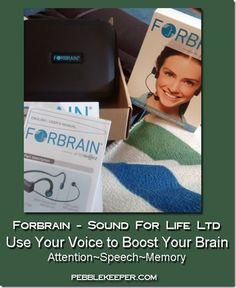 Forbrain #hsreviews, #forbrain #ADD #ADHD #sensoryintegration Sensory Integration, Add Adhd, Your Voice, First Step, Petra, Brain, Homeschool, Ads, Shit Happens