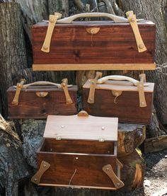 Sean Hellman: Tool box and spoon rack