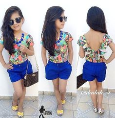 30 Complex Cute Summer Outfits Ideas for Kids – Fashion Love Little Girl Outfits, Cute Outfits For Kids, Little Girl Fashion, Cute Little Girls, Toddler Fashion, Toddler Outfits, Kids Fashion, Summer Outfits, Mode Swag