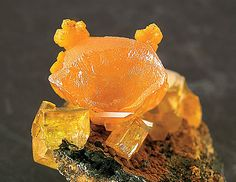 Mimetite ~ Pingtouling Mine, Liannan, Sanjiang, Guangdong  China