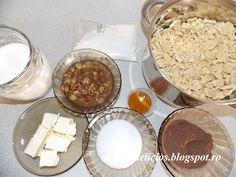 Absolut Delicios - Retete culinare: SALAM DE BISCUITI Salami Recipes, Palak Paneer, Biscuits, Deserts, Pudding, Ethnic Recipes, Food, Crack Crackers, Cookies