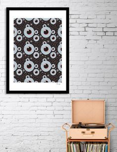 Discover «Fish eye black», Limited Edition Fine Art Print by Beata Wielgos / BeaYourself - From $29 - Curioos