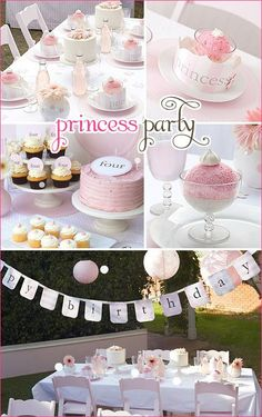 Princess Party this is so cute for a girls | http://weddingreception156.lemoncoin.org