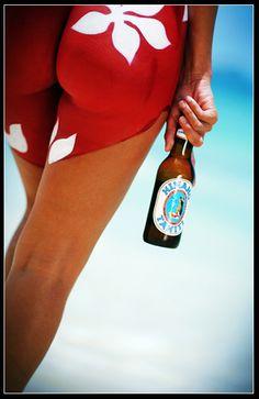 Hinano Beer Body Painting Campaign