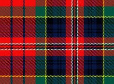 One of the tartans of Clan Macpherson. The Macpherson family hailed from Alvie in the Badenoch area of Inverness, Scotland – the very area that the Macpherson surname and clan had originated from in the 12th Century.