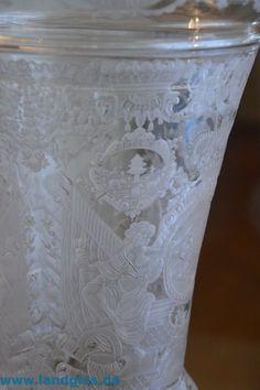 Sächsisches Glas , Teil 1 – Landglas.de , Glasgravur und mehr Der Alchemist, Glass Vase, Decor, Decoration, Decorating, Deco