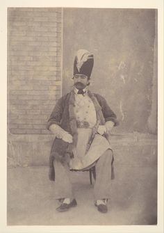 Naser al-Din Shah Artist: Possibly by Luigi Pesce (Italian, 1818–1891) Person in Photograph: Person in photograph Naser od-Din Shah (Iranian, Tehran 1831–1896 Tehran) Date: ca. 1855–58
