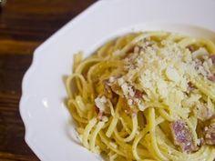 Receta de Pasta Carbonara