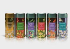 Fortnum and Mason's Gorgeous New Fruit Infusions — The Dieline - Branding & Packaging Design