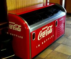 Antique Coke Machine by iluvcocacola, via Flickr