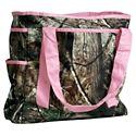 Camo Tote Bag - Realtree Hardwoods/Pink
