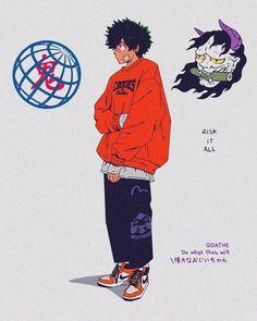 anime how to draw Dope Cartoon Art, Dope Cartoons, Aesthetic Art, Aesthetic Anime, Manga Art, Anime Art, Persona Anime, Arte Cyberpunk, Samurai Champloo