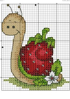 68 ideas crochet patterns for kids book for 2019 Cross Stitch Kitchen, Mini Cross Stitch, Cross Stitch Cards, Simple Cross Stitch, Cross Stitch Animals, Cross Stitching, Cross Stitch Embroidery, Hand Embroidery, Cross Stitch Patterns