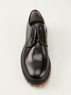 Fendi Chunky Laceless Derby Shoes - Stefania Mode - Farfetch.com