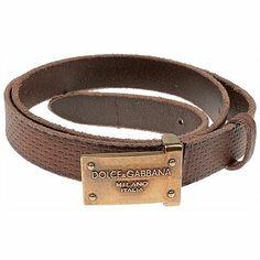 Cinturones para Hombres Dolce & Gabbana, Detalle Modelo: bc3800-a146-80048